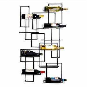 Aliexpress.com : Buy Top Grade Iron Wall Mounted 10 Bottle ...