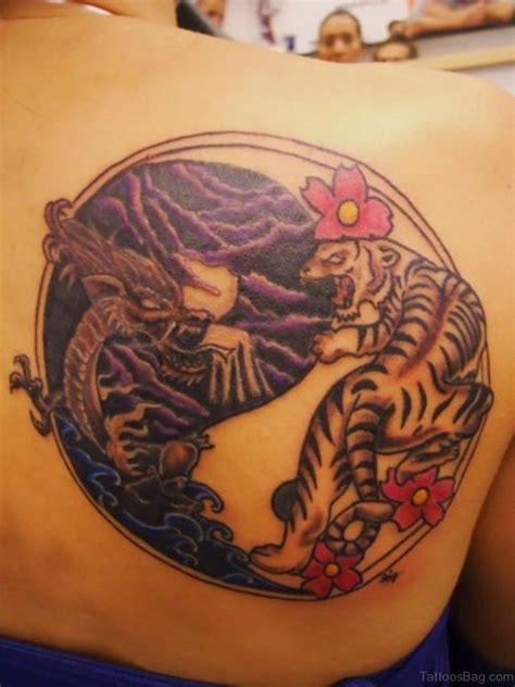 dazzling yin  tattoos  shoulder