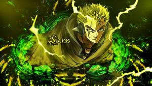 Laxus Wallpaper by UlquiorraCyfer on DeviantArt