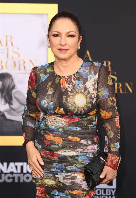 GLORIA ESTEFAN at A Star is Born Premiere in Los Angeles ...
