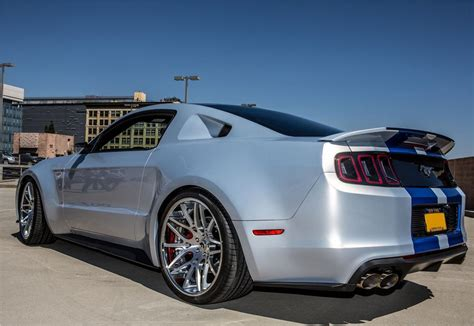 Need For Speed Mustang Sells Big For Charity At Barrett