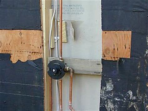How To Build An Outdoor Shower  Plumbing, Showers And Diy