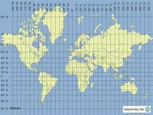 Längen Und Breitengrade Berechnen : weltkarte mit l ngen und breitengrade von limipe ~ Themetempest.com Abrechnung