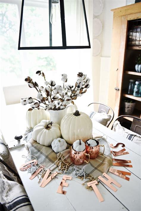 fall table centerpieces autumn centerpiece ideas