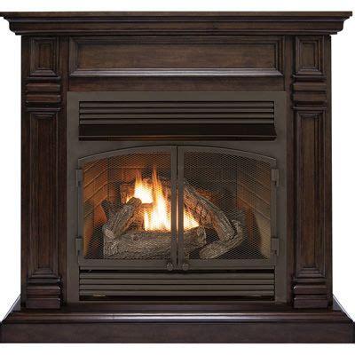 procom dual fuel vent  fireplace offers classic