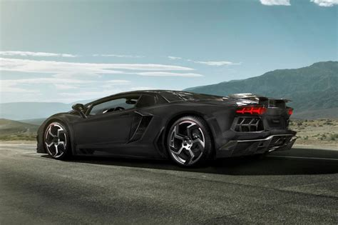 Mansory Carbonado Black Diamond Based On Lamborghini