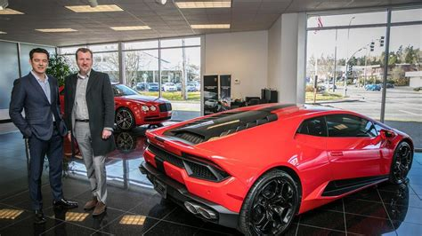 Bellevue Lamborghini, Bentley, Rolls-royce Dealership Sold