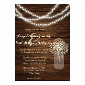 5000 mason jar wedding invitations mason jar wedding for Mason jar beach wedding invitations