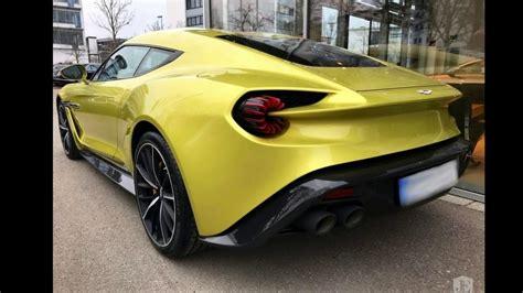 2018 Aston Martin Vanquish Zagato Test Drive