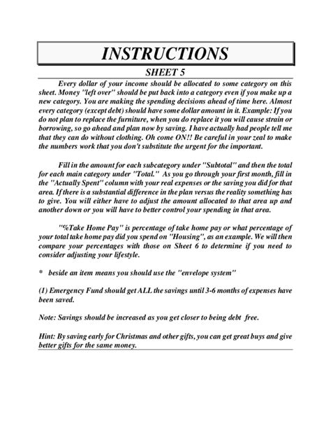 dave ramsey budget form   templates   word