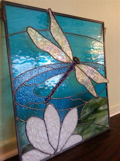 dragonfly stained glass l 1482 best stained glass ideas images on pinterest