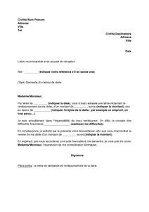 modele lettre reclamation taxe habitation erreur mod 232 le de lettre de demande de remise de dette