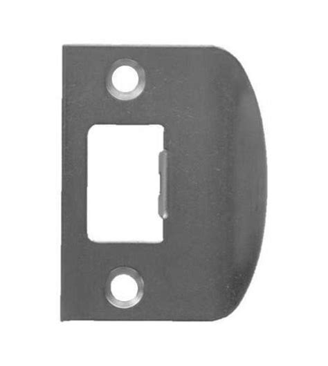 Matt Steel Door Lock Latch Striker Strike Striking Plate