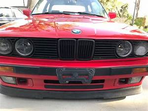1989 Bmw 325is Clean E30 Red On Black Manual S52 Swap For
