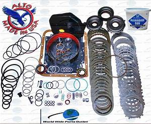 Gm 4l60e Transmission Powerpack Rebuild Kit 1997