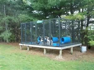 Above Ground Dog Kennel Plans