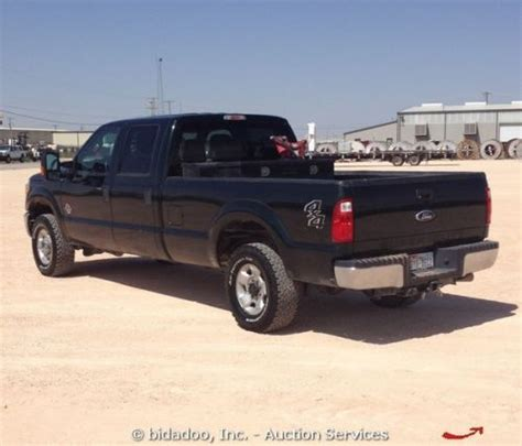 sell   ford   crew cab diesel pick  truck