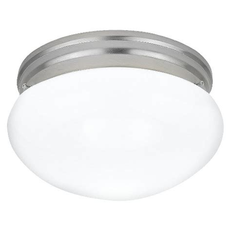 sea gull lighting two light ceiling fixture white metal