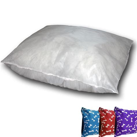large bed pillows replacement pet bed snuggle inner pillow pad large