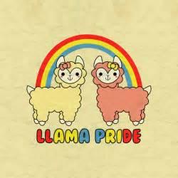 Kawaii Rainbow Llama