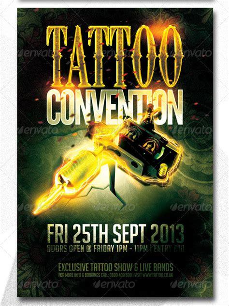tattoo flyer designs psd jpg ai illustrator