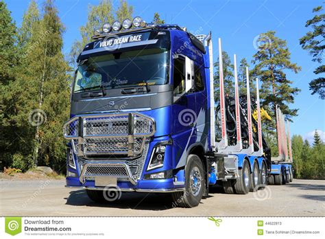 fh volvo ocean race limited edition truck  timber