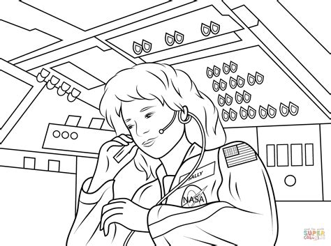 Astronaut Coloring Pages Coloring Pages