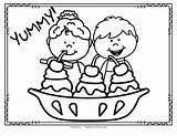 Ice Cream Coloring Theme Printables Activities Preschool Kidsparkz sketch template