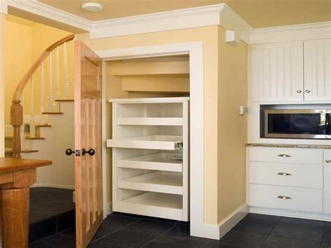 A pantry is such a wonderful thing to have. Under Stairs Pantry Shelving Ideas : Pantry storage under stair closet. | Under stairs storage ...