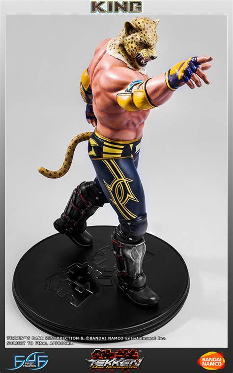 figures tekken  king  statue preview pre