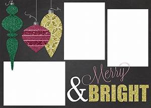 Free Customizable Christmas Card Template - a Houseful of ...