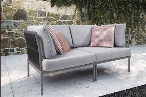 Plastic Outdoor Sofa Divano Da Esterno Polietilene