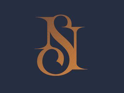 monogram ns ns logo monogram logo design graphic