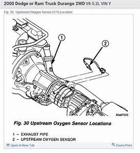 O2 Sensor  How Many O2 Sensors Does A 2000 Dodge Durango