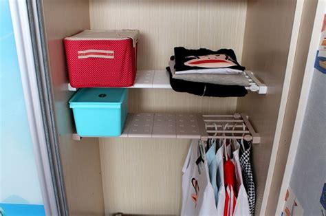 expandable closet rod expandable shelf closet organizer storage bar clothes