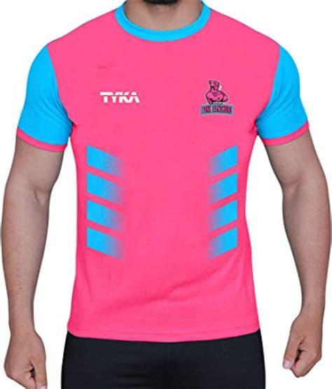 squad t shirt jaipur pink panthers 2017 squad jpp logo jersey for pkl 5