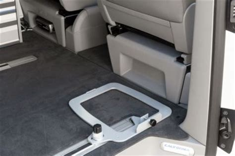 vw t6 cer mit toilette console for cing toilet vw t6 california toilet and cing