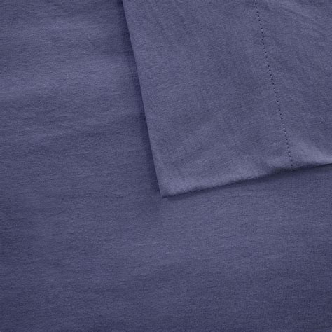 intelligent design cotton blend jersey knit sheet set ebay