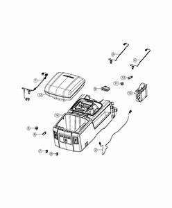 Ram Laramie Wiring  Console  Trim   No Description