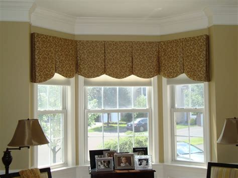 Kitchen Window Curtain Ideas - ideas for bay window treatments in the living room the wooden houses