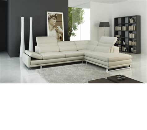 contemporary italian leather sectional sofas dreamfurniture com 958 modern italian leather