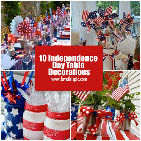 Independence Day Decorations Ideas by 10 Independence Day Table Decorations