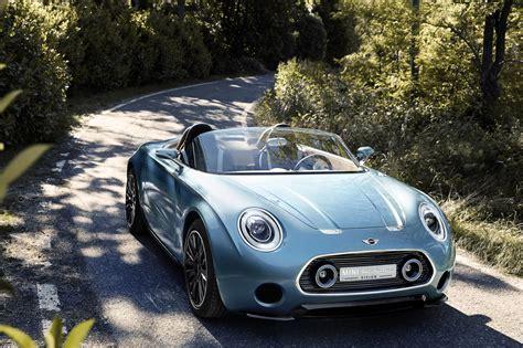Mini Concept Cars by The New Mini Superleggera Vision Concept Car At 2014 La