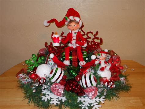 cheap christmas table decorations sale christmas centerpiece table decoration annalee elf gift