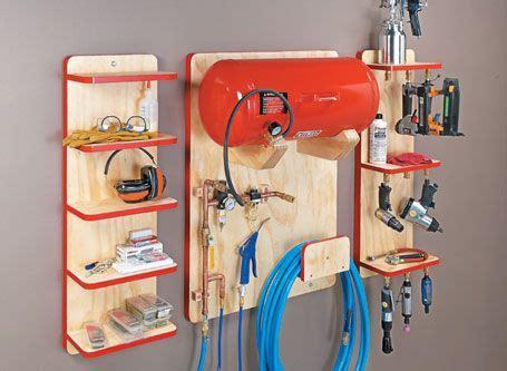air tool station woodsmith plans air tools garage