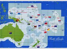 Carte Iles Cook Carte du monde