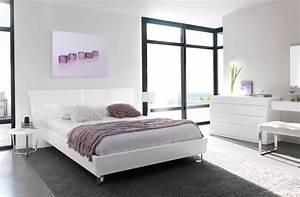 ambiance deco chambre blanche et grise gautier alisa With chambre blanche et grise