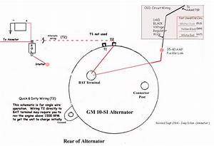 Alternator Wiring Si 10 Wiring Diagram