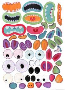 Monster Body Parts Printables
