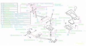 1995 Subaru Legacy Bushing Shift Lever  Manual  Gear